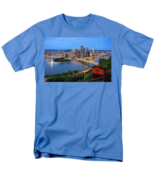 Pittsburgh Summer  Men's T-Shirt  (Regular Fit) by Emmanuel Panagiotakis