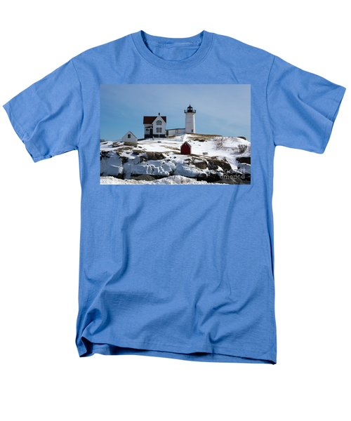 Nubble Light 2 Men's T-Shirt  (Regular Fit) by Kevin Fortier