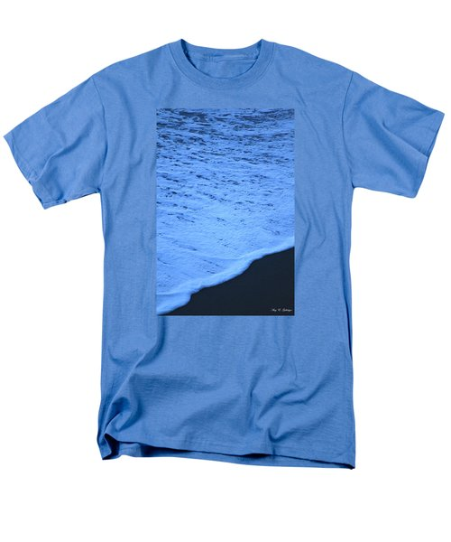 Men's T-Shirt  (Regular Fit) featuring the photograph Ocean Blues by Amy Gallagher