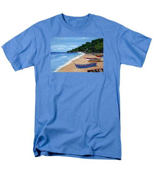 Olas De Crashboat Men's T-Shirt  (Regular Fit) by Luis F Rodriguez