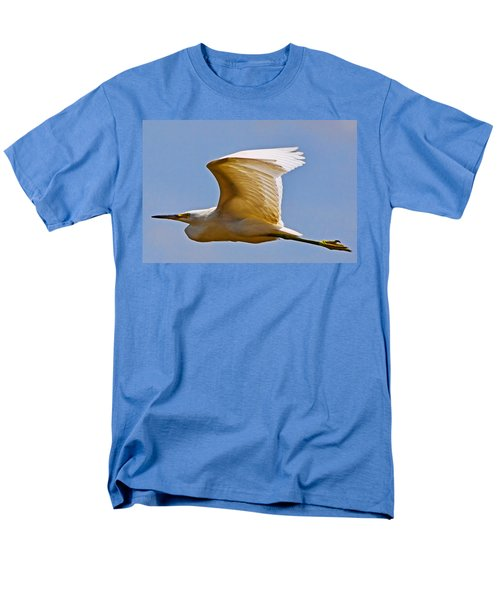 On Angel's Wings Men's T-Shirt  (Regular Fit) by Gary Holmes