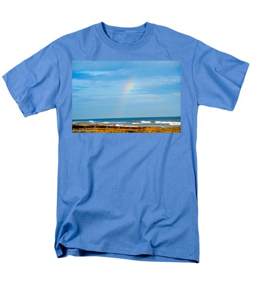 Out Of The Blue  Men's T-Shirt  (Regular Fit) by Mary Ward