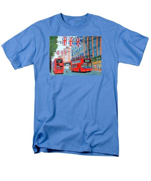 Oxford Street- Queen's Diamond Jubilee  Men's T-Shirt  (Regular Fit)