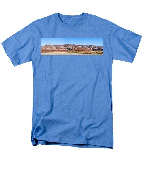 Men's T-Shirt  (Regular Fit) featuring the photograph Painted Desert Mountain by Daniel Hebard