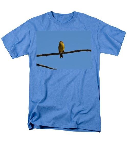 Palm Warbler Men's T-Shirt  (Regular Fit) by James Petersen