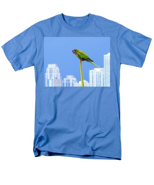 Parrot Men's T-Shirt  (Regular Fit) by J Anthony