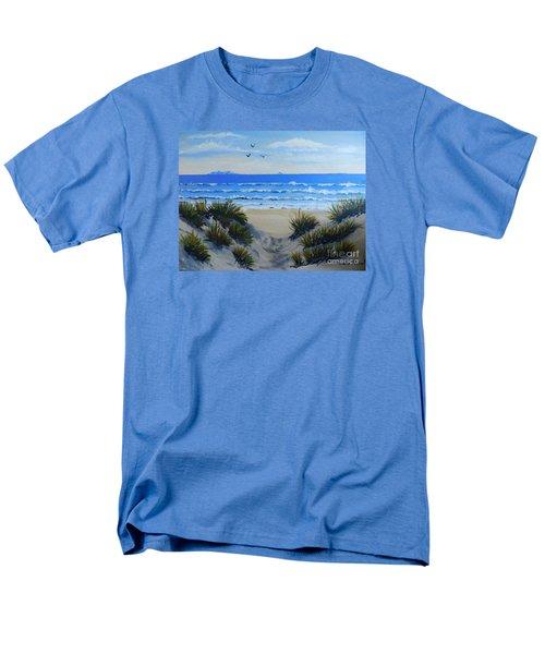 Path Through The Sand Dunes Men's T-Shirt  (Regular Fit) by Pamela  Meredith