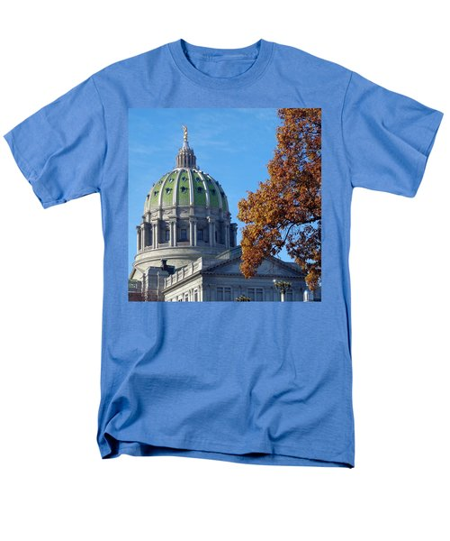 Pennsylvania Capitol Building Men's T-Shirt  (Regular Fit) by Joseph Skompski