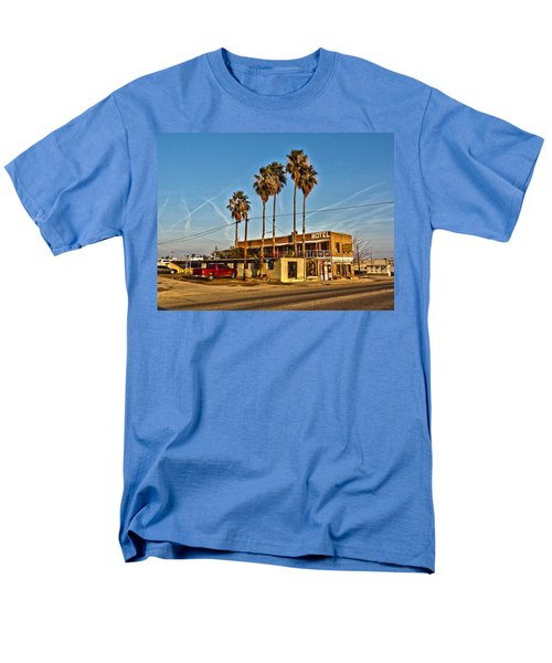 Men's T-Shirt  (Regular Fit) featuring the photograph Penny Bar Mckittrick California by Lanita Williams