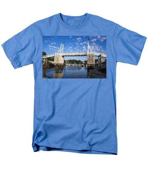Perkins Cove - Maine Men's T-Shirt  (Regular Fit) by Steven Ralser