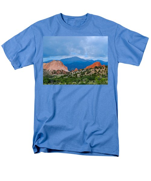 Pikes Peak Men's T-Shirt  (Regular Fit) by Dan Miller