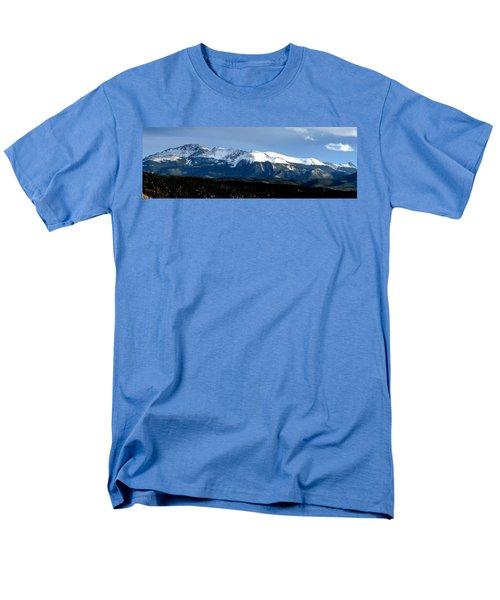 Pikes Peak Panorama Men's T-Shirt  (Regular Fit) by Marilyn Burton