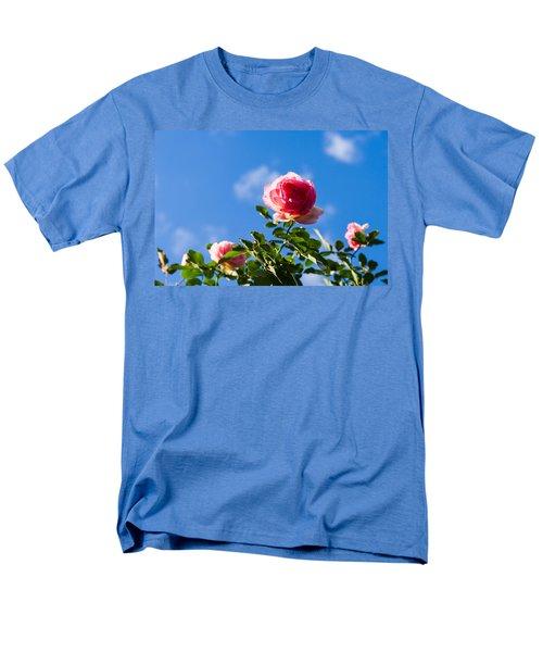 Pink Roses - Featured 3 Men's T-Shirt  (Regular Fit) by Alexander Senin