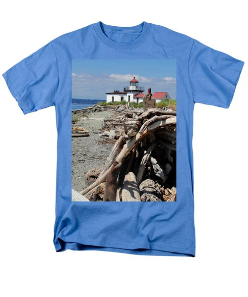 Men's T-Shirt  (Regular Fit) featuring the photograph Point In View by Natalie Ortiz