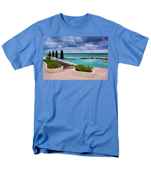 Pool At Rosewood Mayakoba Men's T-Shirt  (Regular Fit) by Teresa Zieba