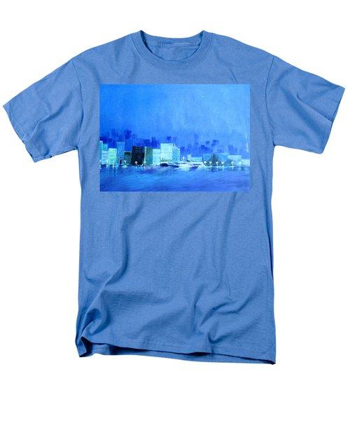 Quiet City Night Men's T-Shirt  (Regular Fit)