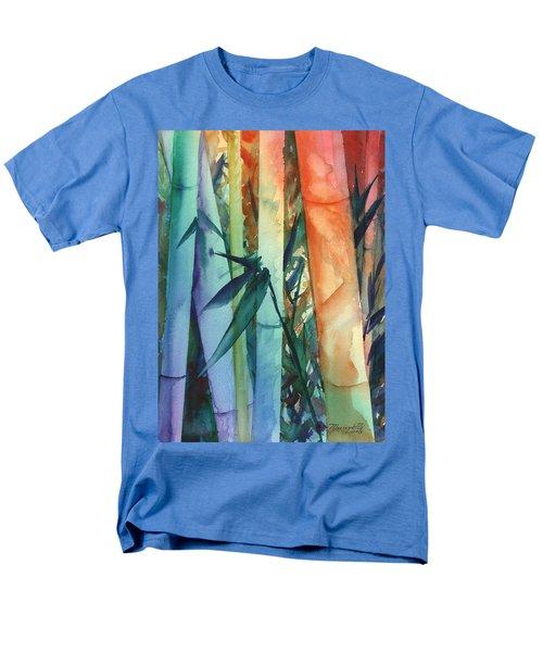 Rainbow Bamboo 2 Men's T-Shirt  (Regular Fit) by Marionette Taboniar