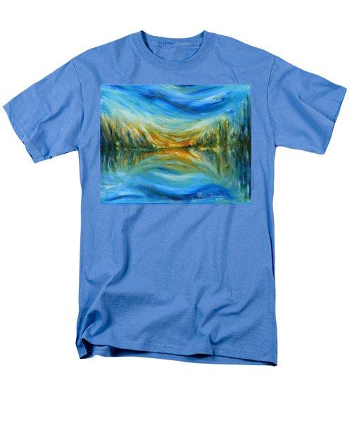 Reflection Men's T-Shirt  (Regular Fit) by Mark Minier