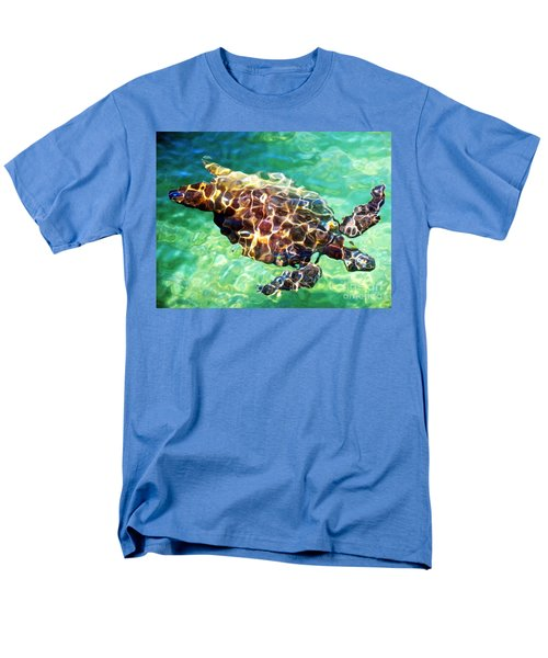 Men's T-Shirt  (Regular Fit) featuring the photograph Refractions - Nature's Abstract by David Lawson