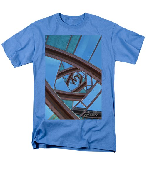 Men's T-Shirt  (Regular Fit) featuring the photograph Revolving Blues. by Clare Bambers