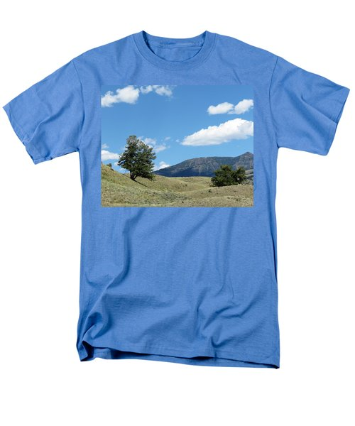 Rolling Hills Men's T-Shirt  (Regular Fit) by Laurel Powell