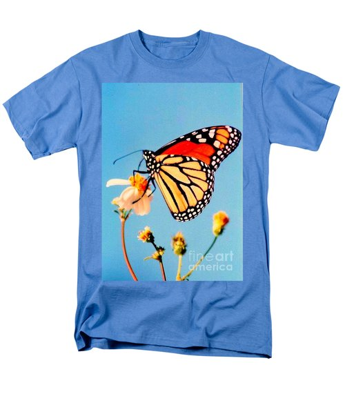 Men's T-Shirt  (Regular Fit) featuring the photograph Mississippi Royal Monarch  by Michael Hoard