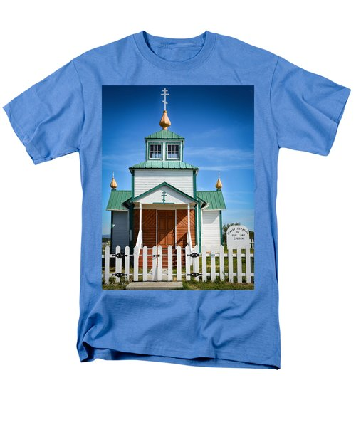 Russian Orthodox Church Men's T-Shirt  (Regular Fit) by Andrew Matwijec