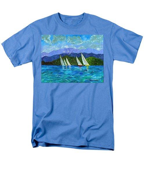 Sailing Men's T-Shirt  (Regular Fit) by Laura Forde