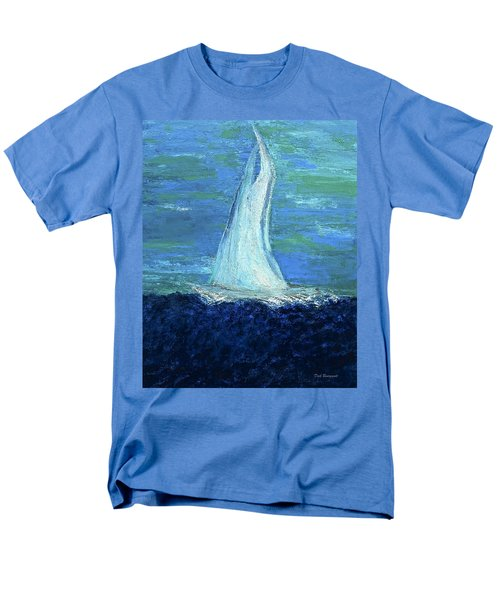 Sailing On The Blue Men's T-Shirt  (Regular Fit) by Dick Bourgault