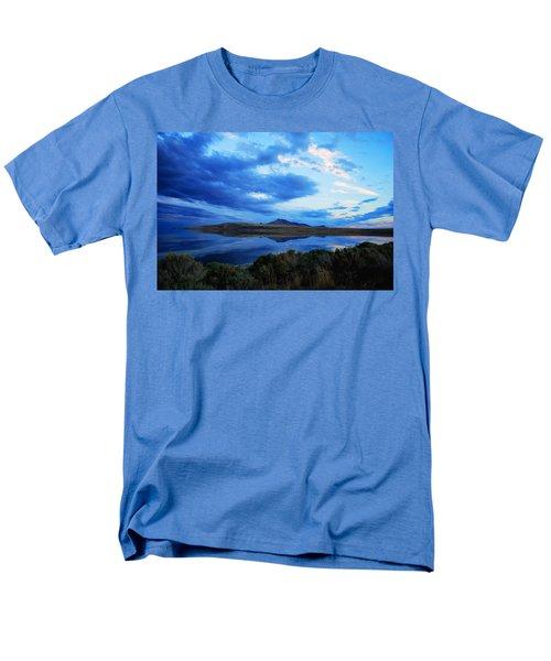Salt Lake Antelope Island Men's T-Shirt  (Regular Fit) by Matt Harang