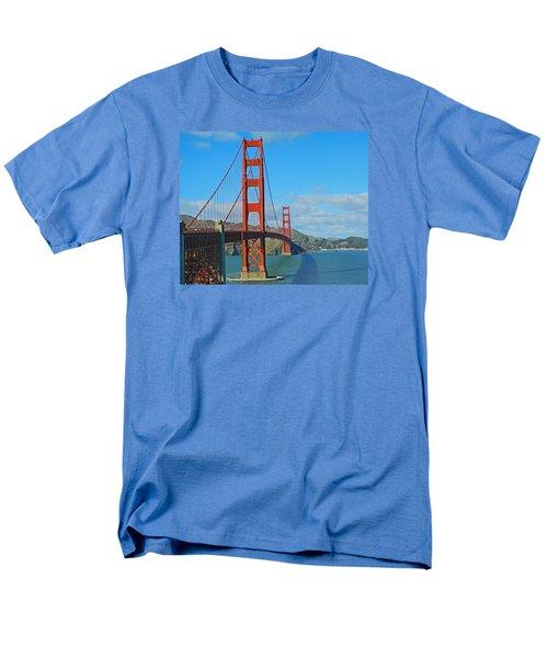 San Francisco's Golden Gate Bridge Men's T-Shirt  (Regular Fit) by Emmy Marie Vickers