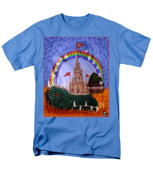 Men's T-Shirt  (Regular Fit) featuring the photograph Sandcastle Shirt by Wendy McKennon
