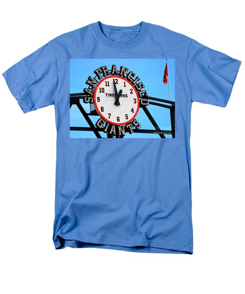 San Francisco Giants Baseball Time Sign Men's T-Shirt  (Regular Fit)