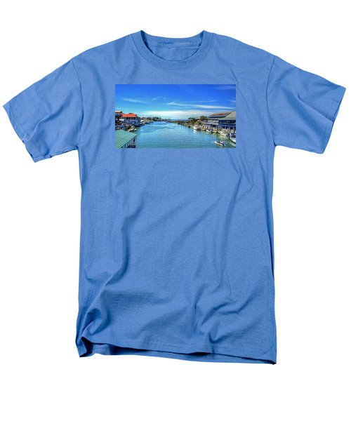 Men's T-Shirt  (Regular Fit) featuring the photograph Shem Creek by Kathy Baccari