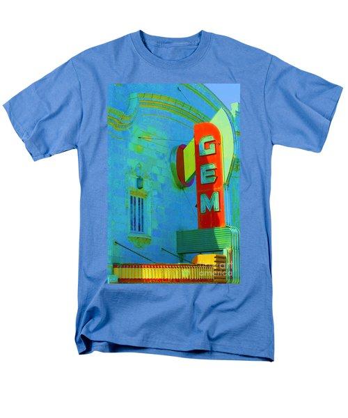 Sign - Gem Theater - Jazz District  Men's T-Shirt  (Regular Fit) by Liane Wright