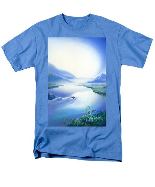 Silence Men's T-Shirt  (Regular Fit) by Anna Ewa Miarczynska