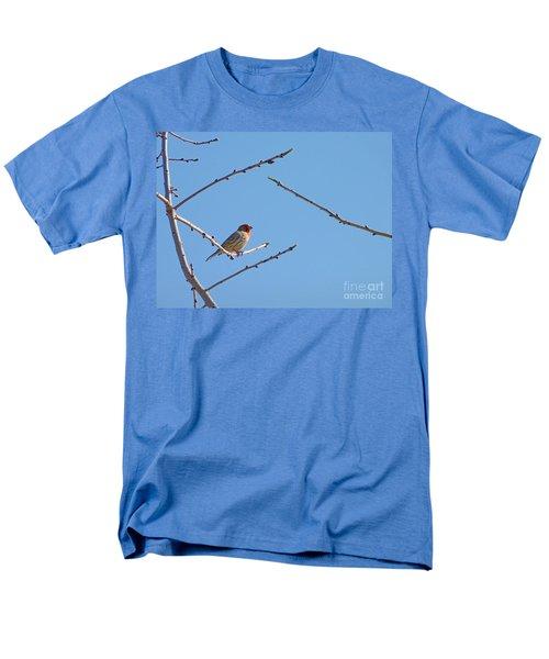 Sky Blue Beauty Men's T-Shirt  (Regular Fit) by Meghan at FireBonnet Art