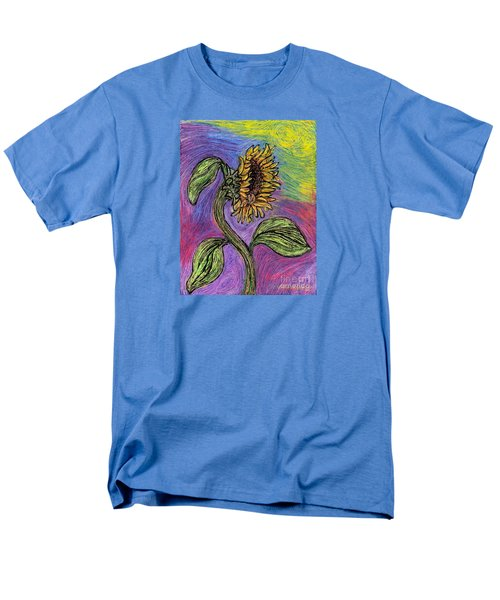 Spanish Sunflower Men's T-Shirt  (Regular Fit) by Sarah Loft