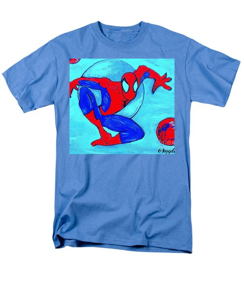 Spider-man  Men's T-Shirt  (Regular Fit) by Saundra Myles