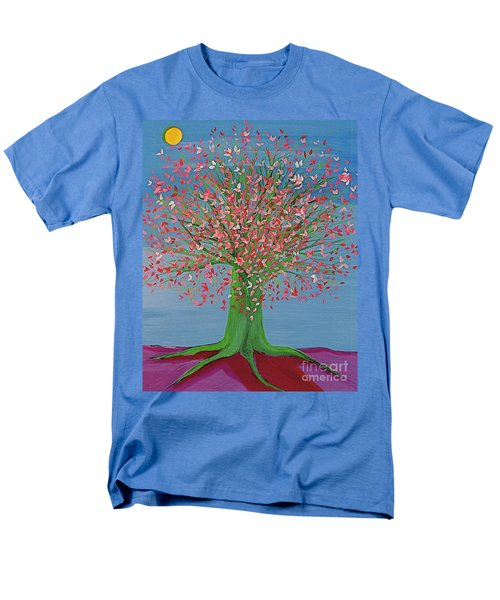 Spring Fantasy Tree By Jrr Men's T-Shirt  (Regular Fit) by First Star Art