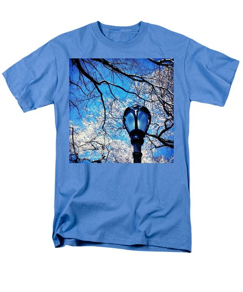 Spring In Central Park New York Men's T-Shirt  (Regular Fit) by Anna Porter