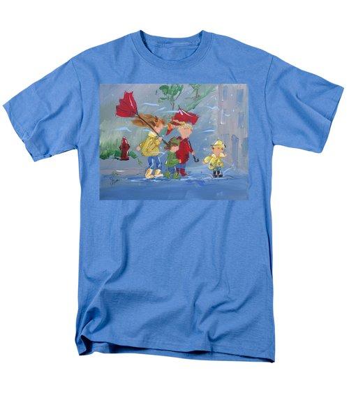 Spring In Our Step Men's T-Shirt  (Regular Fit) by Terri Einer