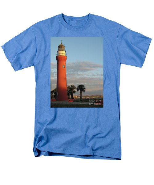 St. Johns River Lighthouse II Men's T-Shirt  (Regular Fit) by Christiane Schulze Art And Photography