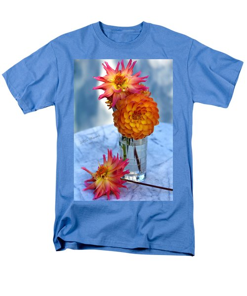 Men's T-Shirt  (Regular Fit) featuring the photograph Starfire by Jeanette C Landstrom
