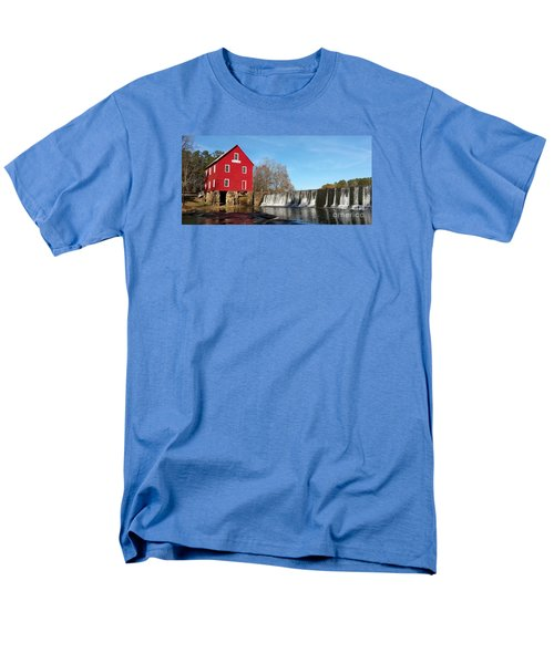 Men's T-Shirt  (Regular Fit) featuring the photograph Starr's Mill In Senioa Georgia by Donna Brown