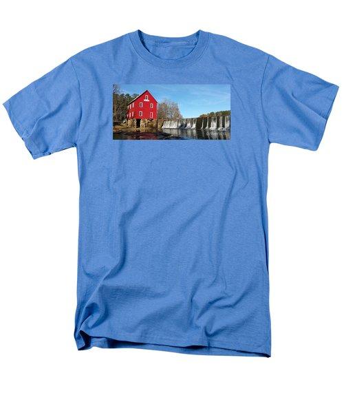 Starr's Mill In Senioa Georgia Men's T-Shirt  (Regular Fit) by Donna Brown