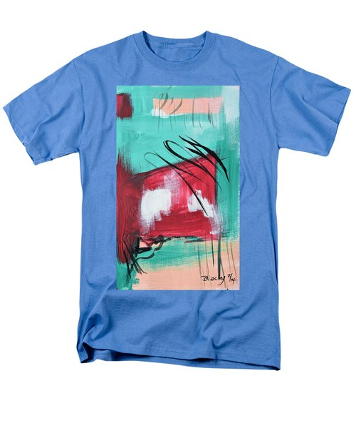 Staying In Miami Men's T-Shirt  (Regular Fit) by Donna Blackhall