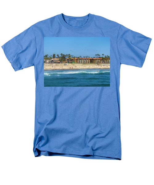 Summertime Men's T-Shirt  (Regular Fit) by Tammy Espino