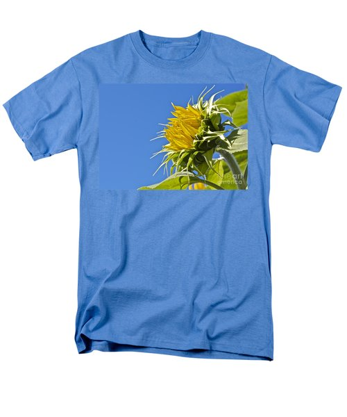 Men's T-Shirt  (Regular Fit) featuring the photograph Sunflower by Linda Bianic