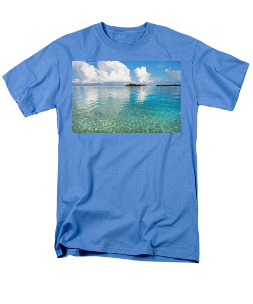 Sunny Invitation For  You. Maldives Men's T-Shirt  (Regular Fit) by Jenny Rainbow